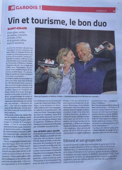 Midi Libre Juillet 2020