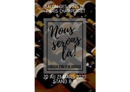 Salon des Vignerons Indépendants de Paris Champerret
